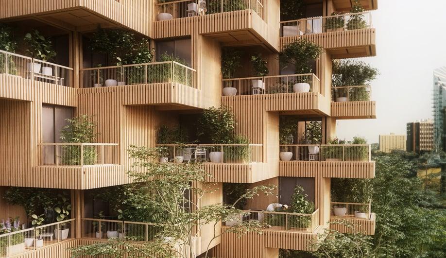 Tree Tower Toronto Concept Revealed by Penda