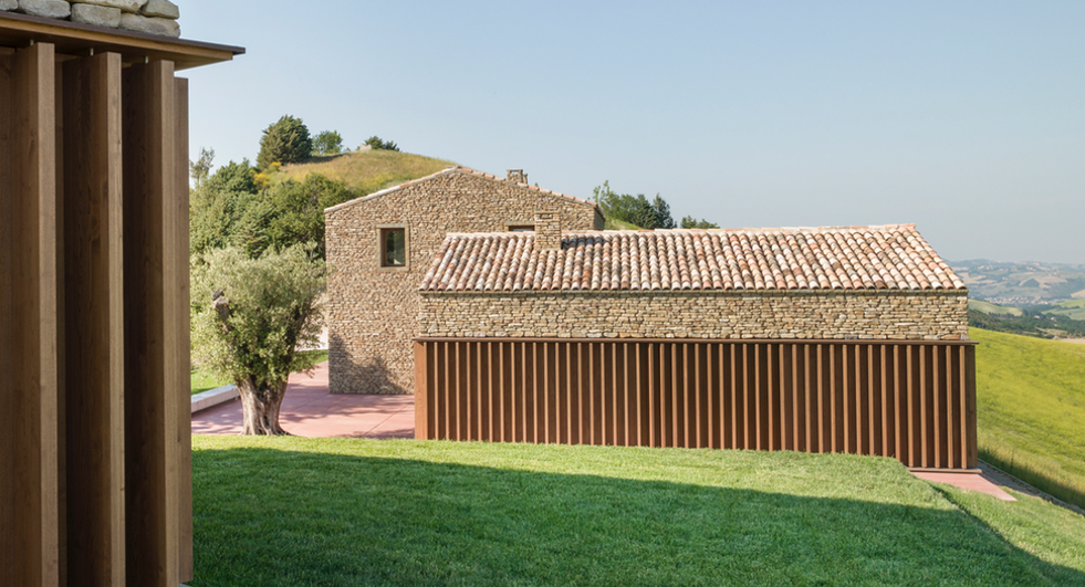 How italian firm gga turned a medieval settlement into a for Architecture firms in italy