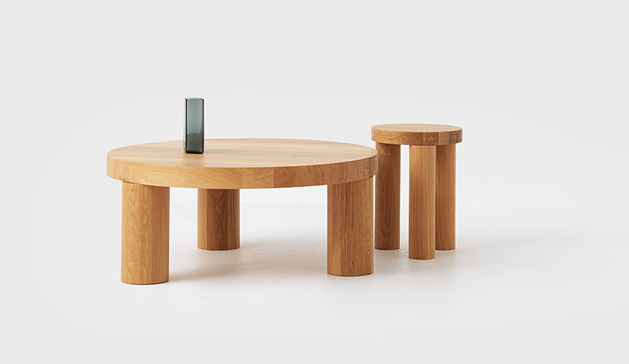 Offset Coffee Table by Resident
