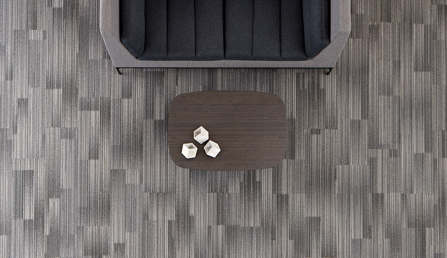 Gradient Form Carpet Tile by Patcraft