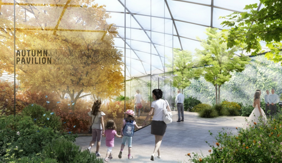 Carlo Ratti's focus on data shaped Garden of the Four Seasons.