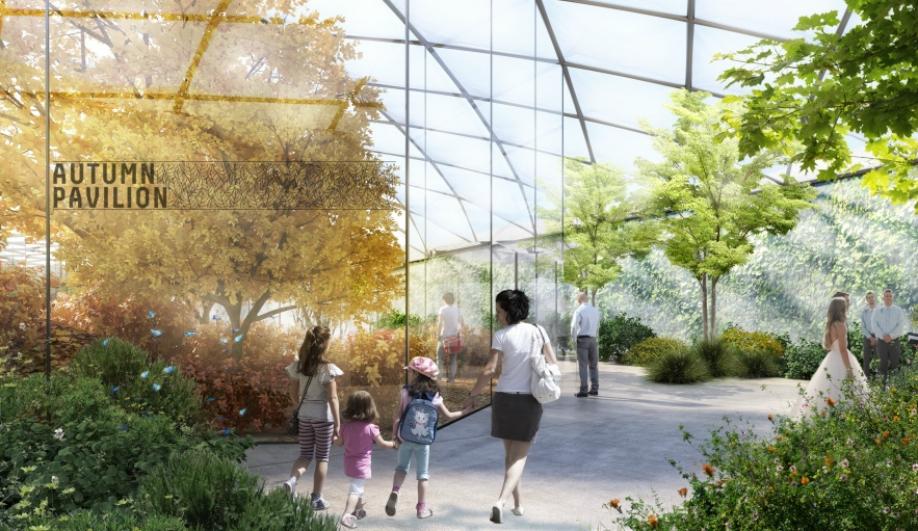 Carlo Ratti's focus on data shaped Garden of the Four Seasons.