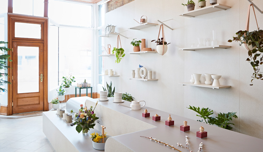 MSDS Studio Cultivates a New Aesthetic for Toronto Flower Boutique Flùr
