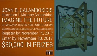 Joan B. Calambokidis Innovation in Masonry Design