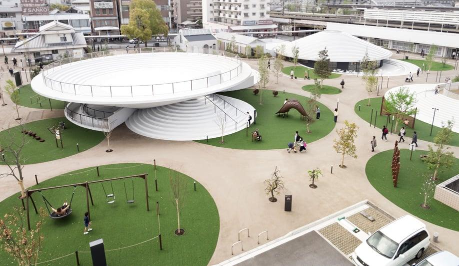 This Isn't a Spaceship — It's Nendo's Vibrant CoFuFun Plaza