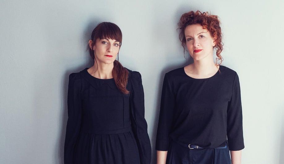 Arianna Lelli Mami and Chiara Di Pinto of Studiopepe
