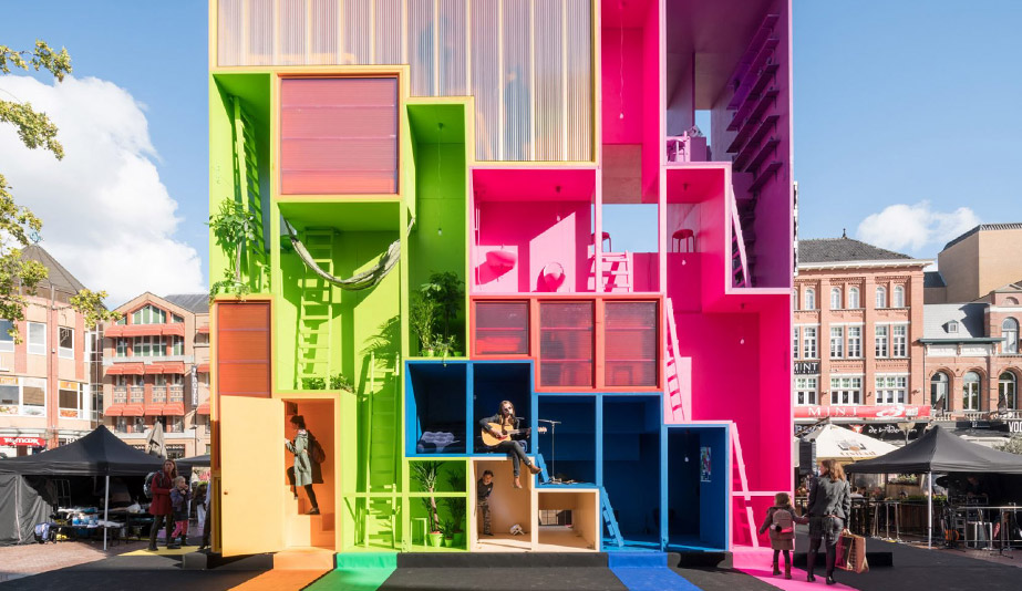 MVRDV hotel concept at Dutch Design Week