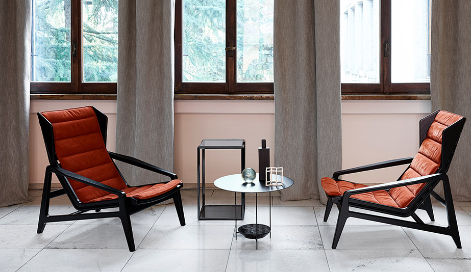 D.156.3 Armchair by Molteni & C
