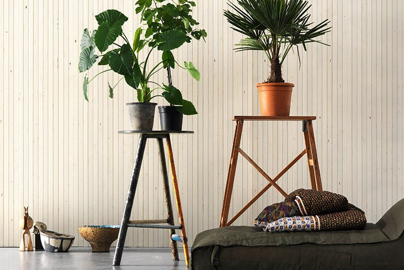 Timber Strips Wallpaper by NLXL