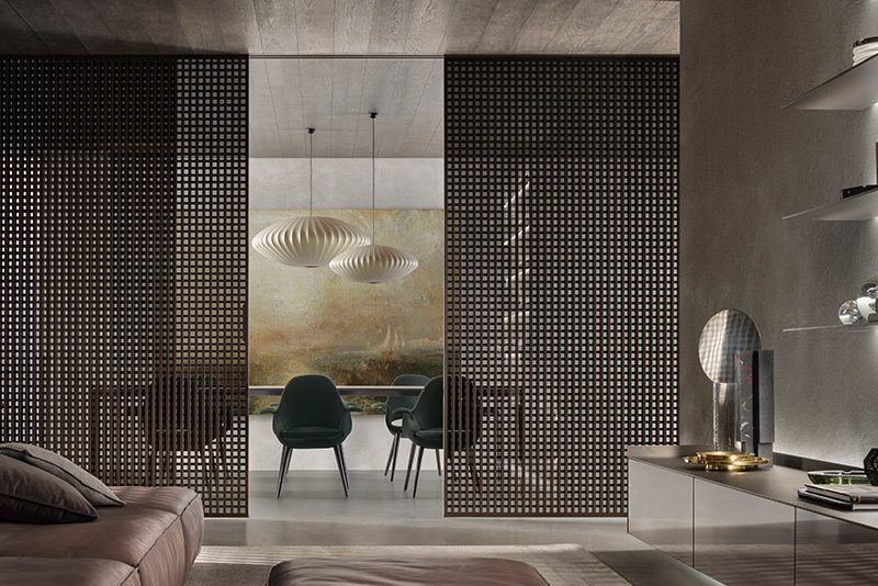 Daimon Sliding Panels by Rimadesio