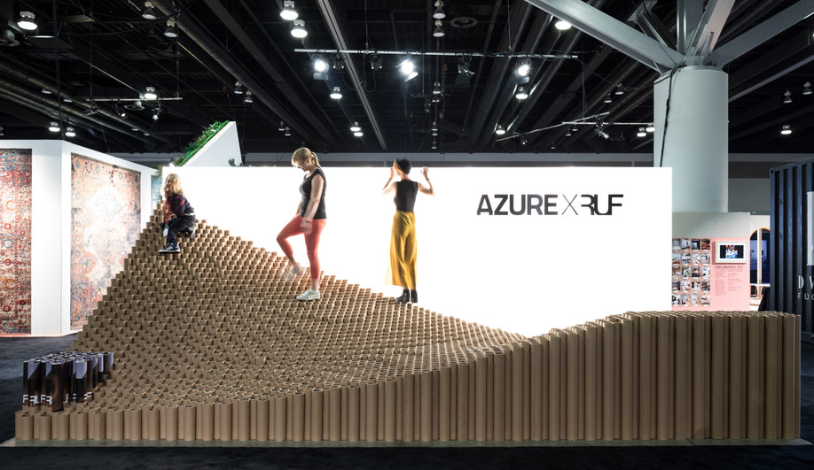 RUF and AZURE Team Up for Tubalicious at IDS Vancouver