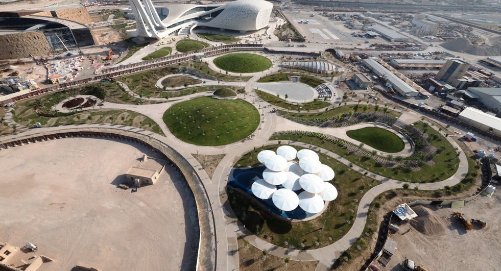 Oxygen Park is a Green Lung in the Doha Desert