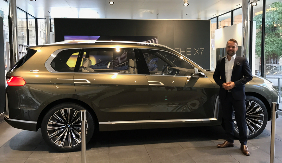 BMW Luxury Excellence Pavilion in downtown Toronto