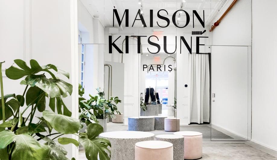 Inside Mathieu Lehanneur's Magical Maison Kitsuné Boutique