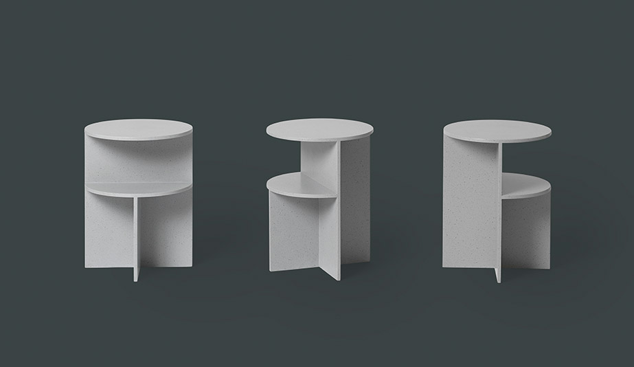 Halves Table by Muuto