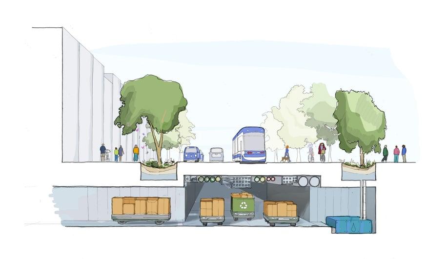Google's Sidewalk Labs Quayside Render in Toronto