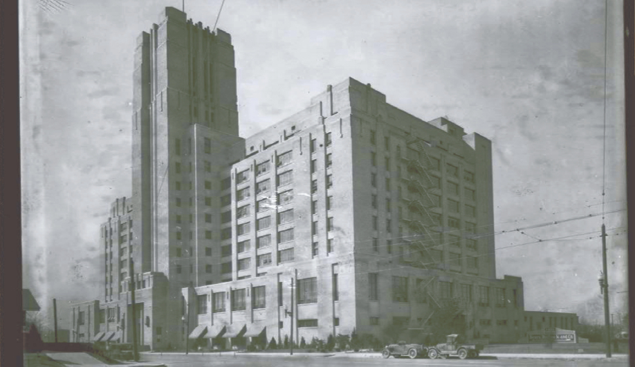 The art deco Sears that became the Crosstown Concourse in Memphis