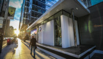 BMW Pavilion Touches Down in Toronto's Financial District