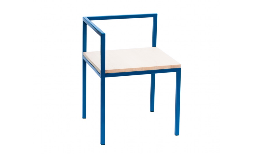 The Homa chair from Geoffrey Lilge's Div.12 collection