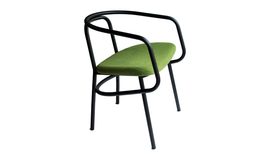 The L51 chair from Geoffrey Lilge's Div.12 collection