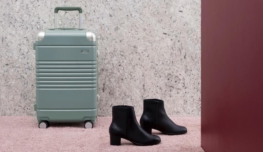 Arlo Skye x Site Unseen luggage