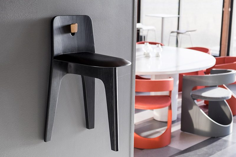 Stove Chair by Bla Station