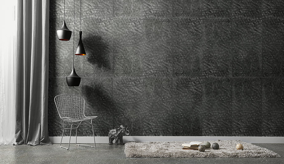 Cemento 14 Wall Tile by Stone Source