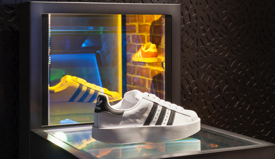 The CNCPTS and Adidas store in Boston was developed by Sid Lee.