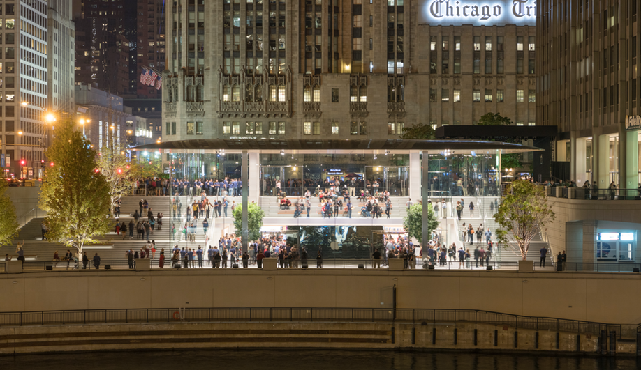 Apple Michigan Avenue is Chicago's newest Apple Store.