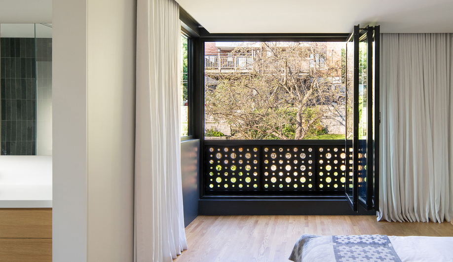 Natalie Dionne Architecture's Black Box II is a contemporary Montreal townhouse in NDG.