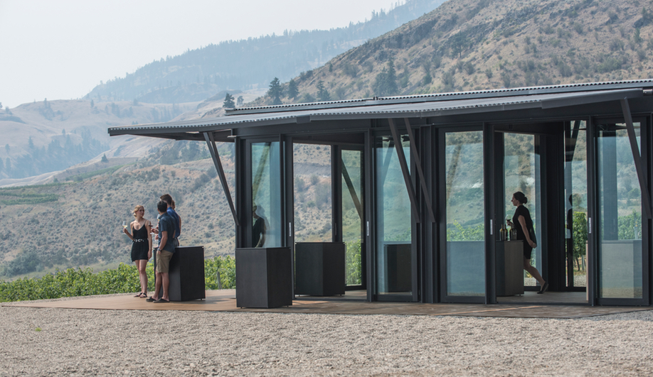 Tom Kundig's Installation is a pop-up for CheckMate in the Okanagan in B.C.