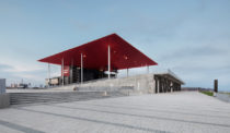 Paul Laurendeau's Amphitheatre is a Trois-Rivières Waterfront Landmark