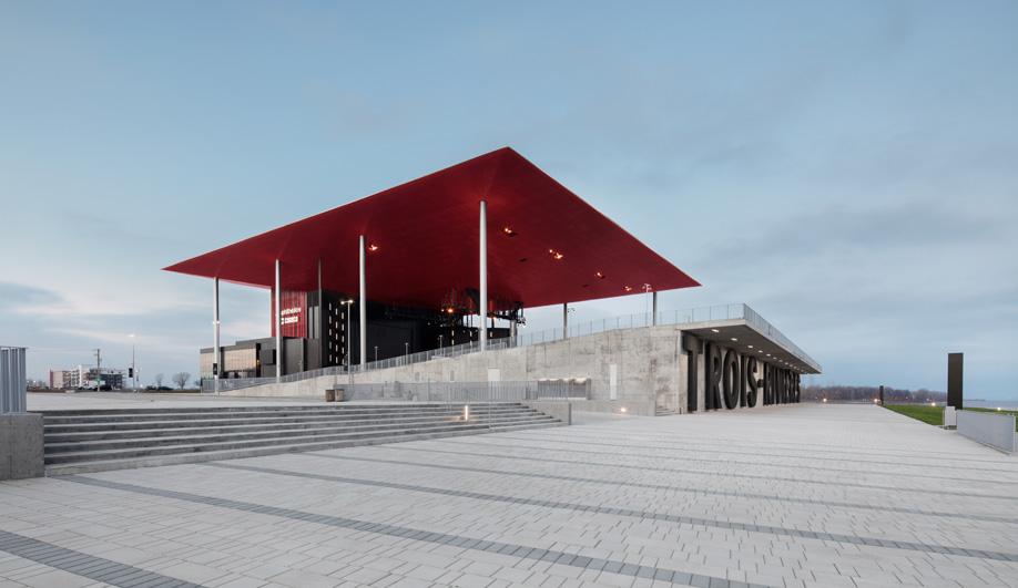 Paul Laurendeau's Amphitheatre is a Trois-Rivières Waterfront Landmark