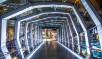 Inside WilkinsonEyre's Eaton Centre Bridge in Toronto