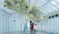 EcoLogicStudio's Pavilion Produces Energy, Food and Beauty with Algae