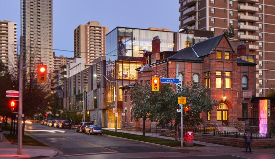 Hariri Pontarini designed the new Casey House in Toronto.