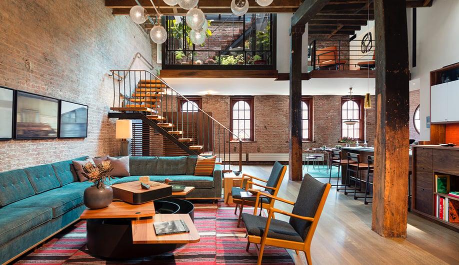 Andrew Franz Architects Work On A Tribeca Loft