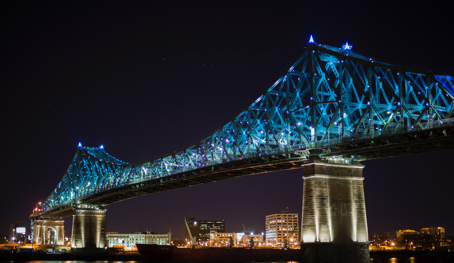 Moment Factory Lights Up Jacques Cartier Bridge With Interactive LEDs