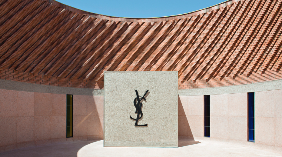 The YSL Museum in Marrakech.