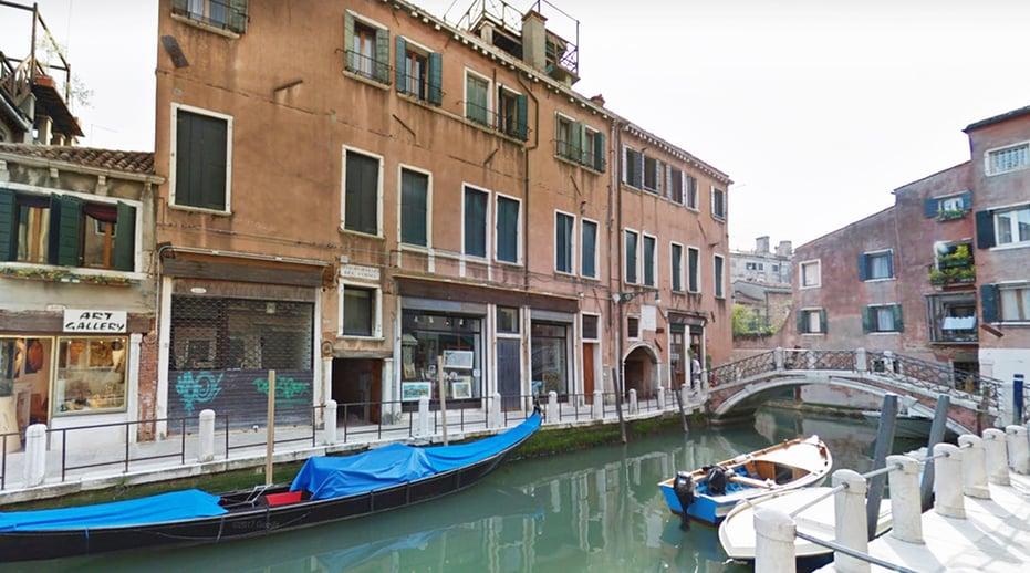 The Rio delle Toreselle canal in Venice