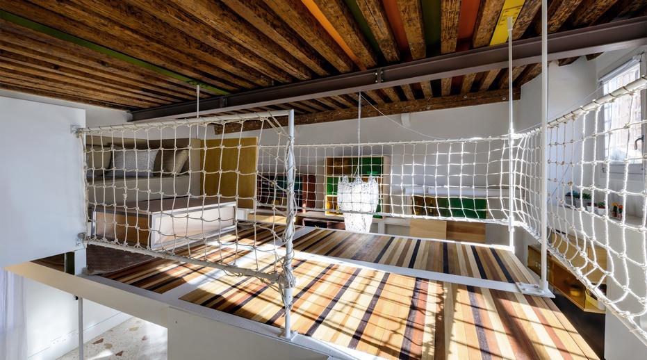 Stefano Pujatti's Elasticospa created this loft in Venice.