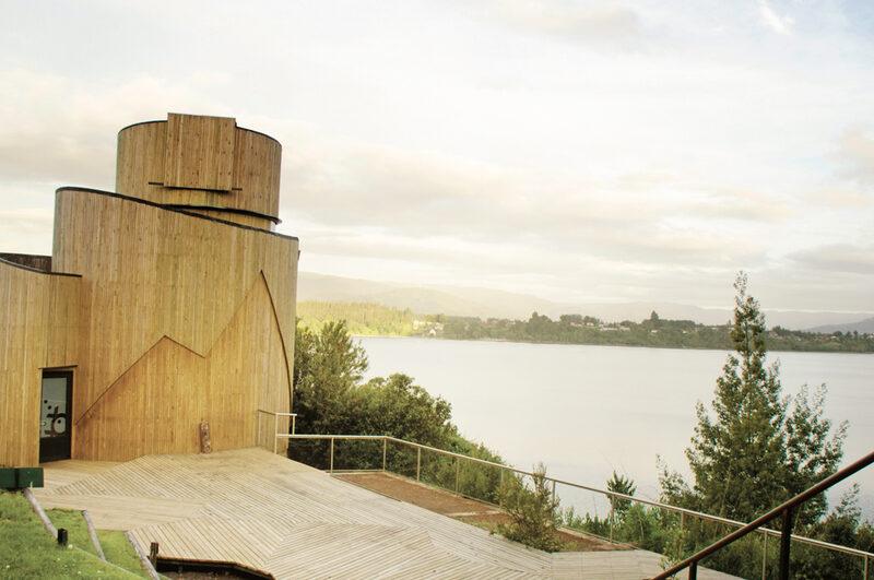 Susana Herrera's Yepun Astronomical Observatory in Arauco, Chile.