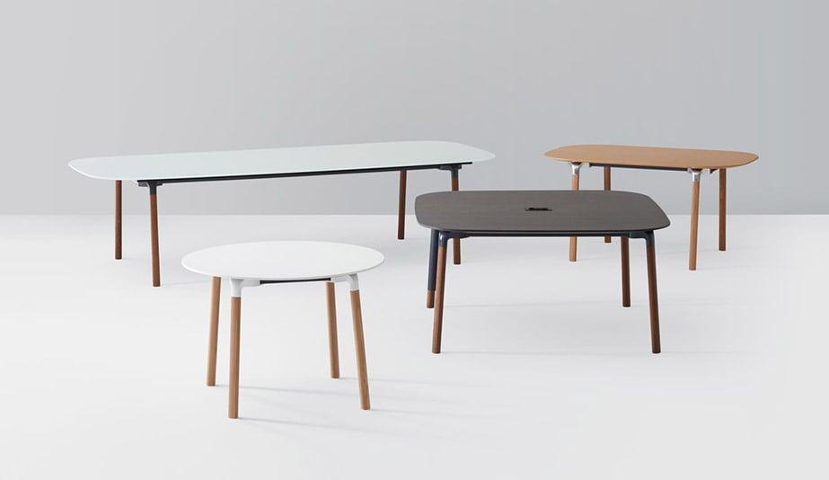Bevy Leg Work Tables by Studio TK