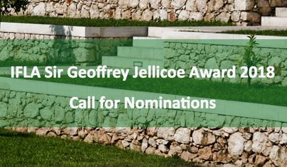IFLA Sir Geoffrey Jellicoe Award 2018