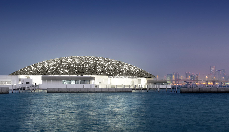 Louvre Abu Dhabi, by Ateliers Jean Nouvel, is one of the best buildings of 2017.