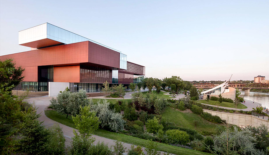 Remai Modern by KPMB Architects and Architecture49 is one of the best buildings of 2017.
