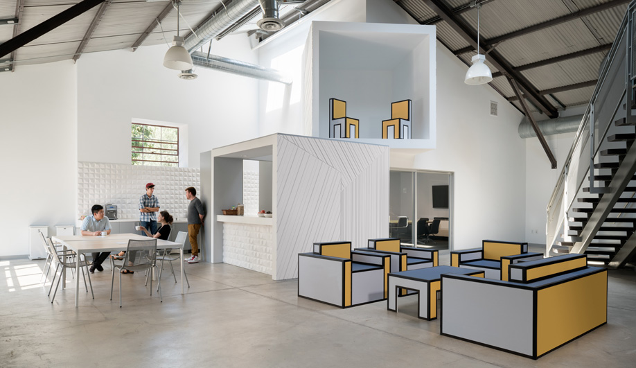 This FreelandBuck-Designed Production Studio Resembles a Small Town