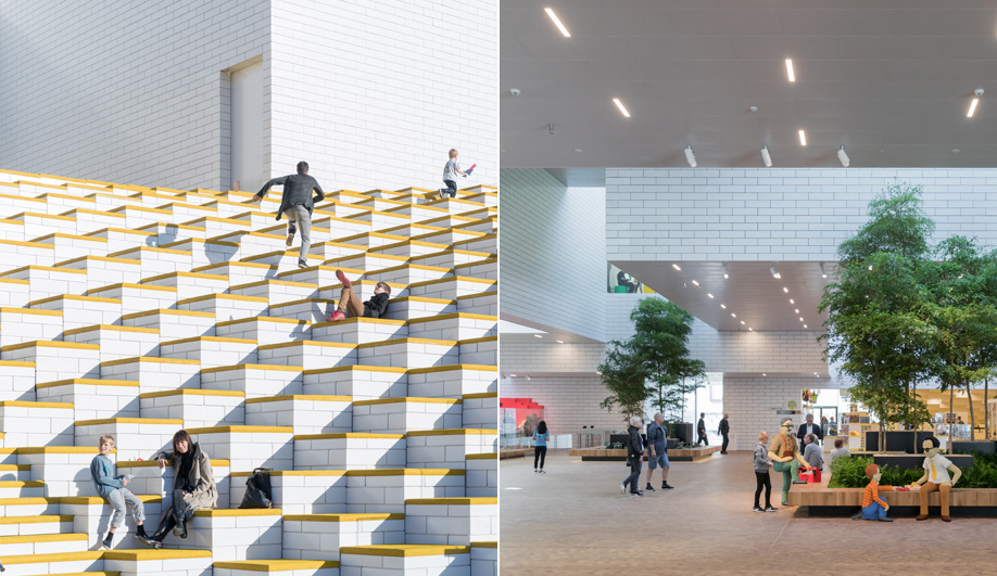 Bjarke Ingels Group designed the Lego Visitor Centre in Denmark.
