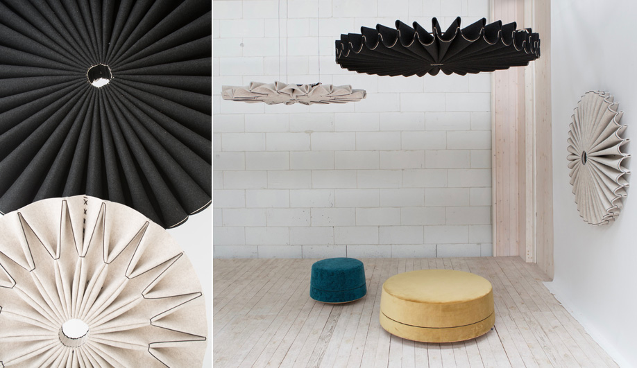 BuzziPleat Acoustic Panels by BuzziSpace