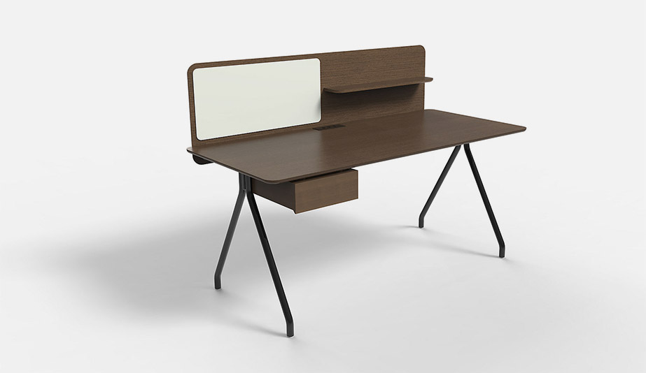 Simple Writing Desk by HBF